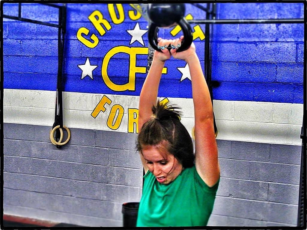Alicia doing some heavy swings